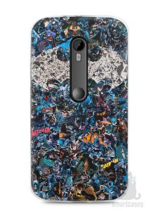 Capa Moto G3 Batman Comic Books #3