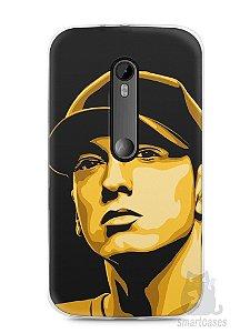 Capa Moto G3 Eminem #1
