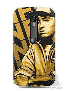 Capa Moto G3 Eminem #2