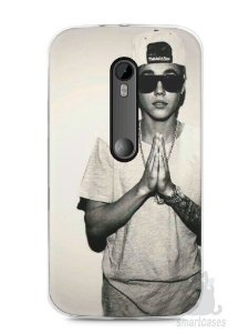 Capa Moto G3 Justin Bieber