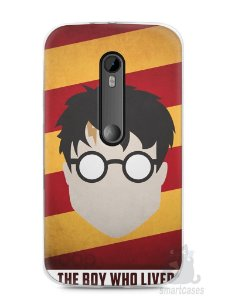 Capa Moto G3 Harry Potter #2