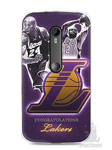 Capa Moto G3 Lakers