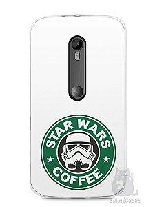 Capa Moto G3 Star Wars Coffee