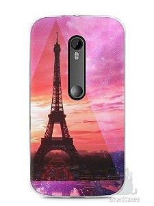 Capa Moto G3 Torre Eiffel #2