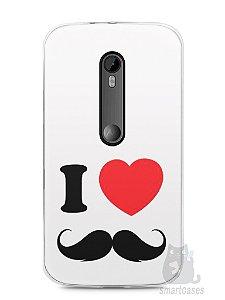 Capa Moto G3 I Love Bigode #1