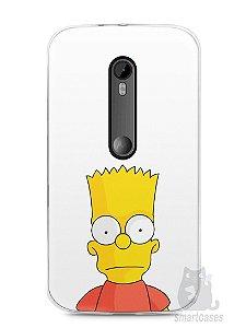 Capa Moto G3 Bart Simpson