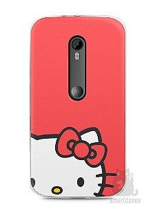 Capa Moto G3 Hello Kitty #1
