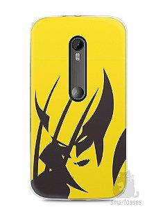 Capa Moto G3 Wolverine