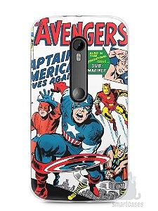 Capa Moto G3 The Avengers