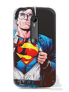 Capa Moto G3 Super Homem #1