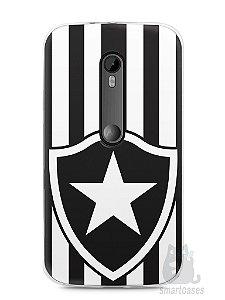 Capa Moto G3 Time Botafogo