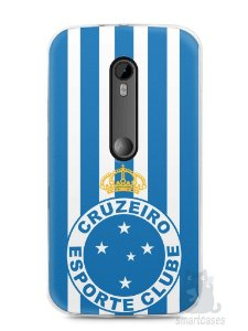 Capa Moto G3 Time Cruzeiro
