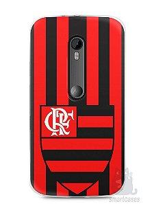 Capa Moto G3 Time Flamengo #1
