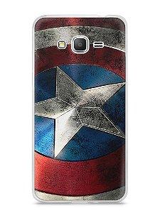 Capa Samsung Gran Prime Escudo Capitão América