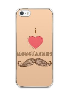 Capa Iphone 5/S I Love Bigode #2