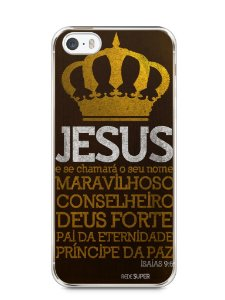 Capa Iphone 5/S Jesus #4