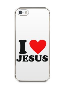 Capa Iphone 5/S I Love Jesus