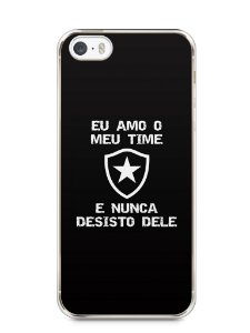 Capa Iphone 5/S Time Botafogo #4