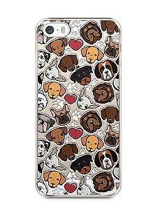 Capa Iphone 5/S Cachorros