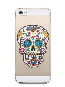 Capa Iphone 5/S Caveira Mexicana