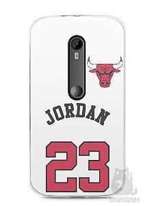 Capa Moto G3 Michael Jordan 23