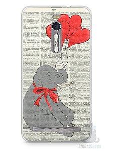 Capa Zenfone 2 Elefante e Corações