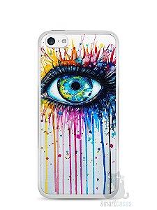 Capa Iphone 5C Olho Pintura