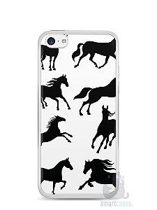 Capa Iphone 5C Cavalos #2