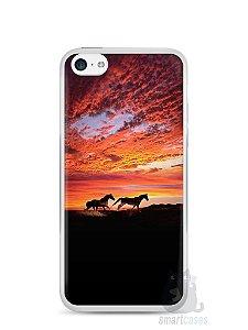 Capa Iphone 5C Cavalos #1
