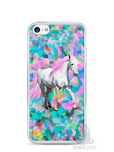 Capa Iphone 5C Cavalo Pintura