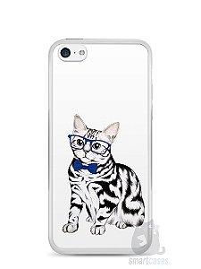Capa Iphone 5C Gato Estiloso