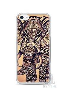 Capa Iphone 5C Elefante Tribal