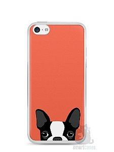 Capa Iphone 5C Cachorro Bulldog Francês #1