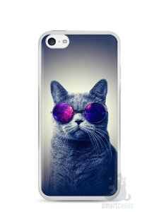 Capa Iphone 5C Gato Galáxia #2