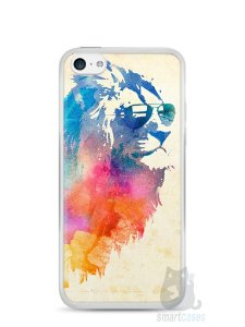 Capa Iphone 5C Leão Colorido #2
