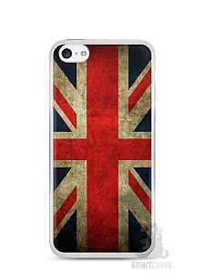 Capa Iphone 5C Bandeira da Inglaterra