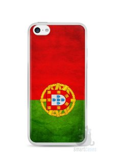 Capa Iphone 5C Bandeira de Portugal