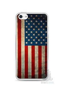 Capa Iphone 5C Bandeira EUA