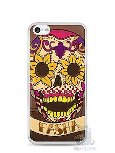 Capa Iphone 5C Dia dos Mortos #1