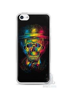Capa Iphone 5C Caveira #7