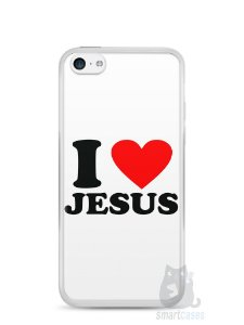 Capa Iphone 5C I Love Jesus