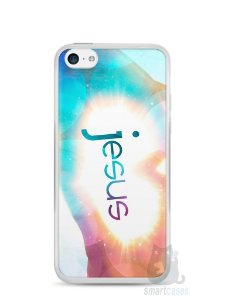 Capa Iphone 5C Jesus #3