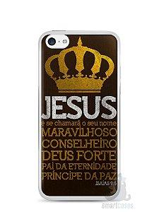 Capa Iphone 5C Jesus #4