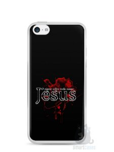 Capa Iphone 5C Jesus #5