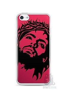Capa Iphone 5C Jesus #7