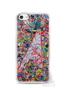 Capa Iphone 5C The Avengers Comic Books
