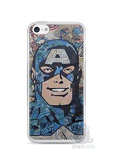 Capa Iphone 5C Capitão América Comic Books #2