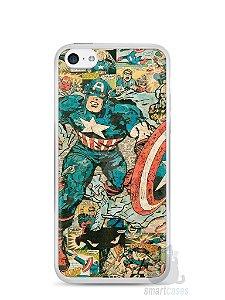 Capa Iphone 5C Capitão América Comic Books #1