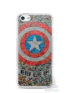 Capa Iphone 5C Capitão América Comic Books #3
