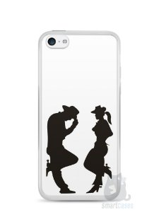 Capa Iphone 5C Cowboy e Cowgirl